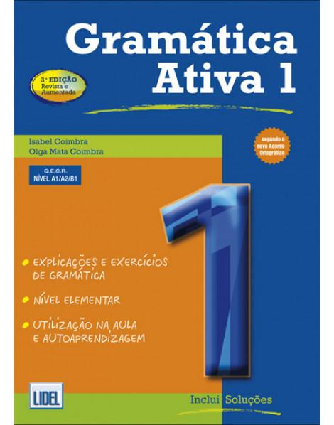 Пособие по грамматике Gramatica Ativa 1, Nivel A1/ A2/ B1 (Португальская версия)