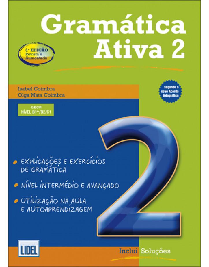 Пособие по грамматике Gramatica Ativa 2, Nivel B1/ B2/ C1 (Португальская версия)