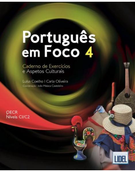 Português em Foco 4 – Caderno de Exercícios - C1-C2
