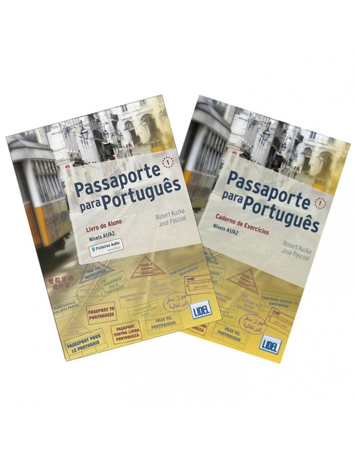 Passaporte para Português 1 (Níveis A1-A2): Livro do Aluno + Caderno de Exercícios - Самоучитель португальского языка