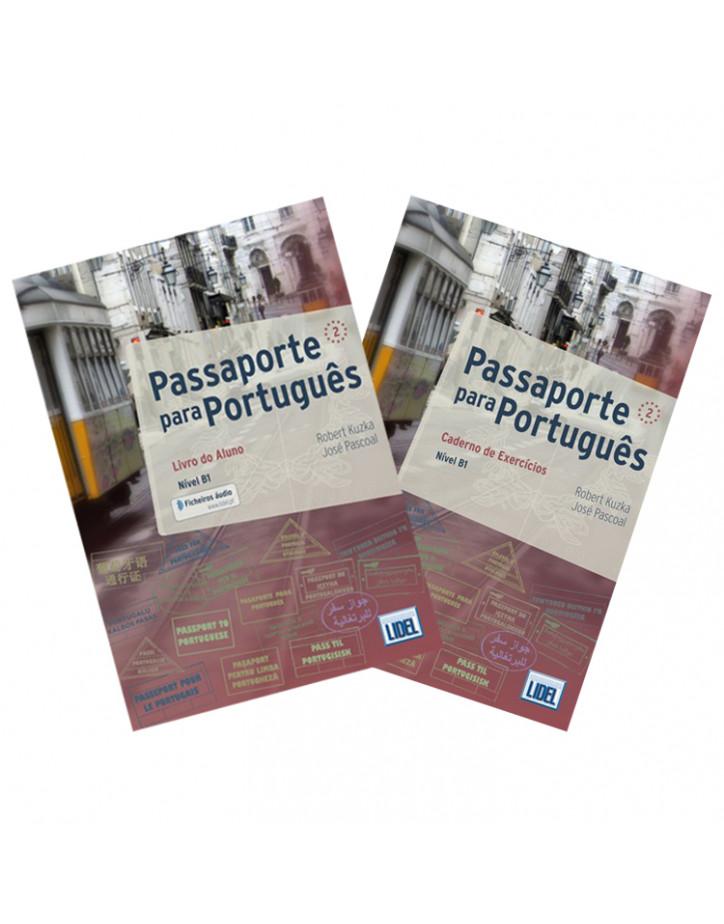 Passaporte para Português 2 (Nível B1): Livro do Aluno + Caderno de Exercícios - Самоучитель португальского языка